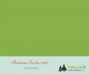 Farbe 2017 heisst Greenery