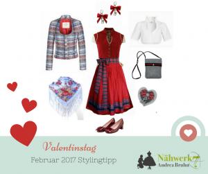 Februar 2017 Valentinstag Stylingtipp